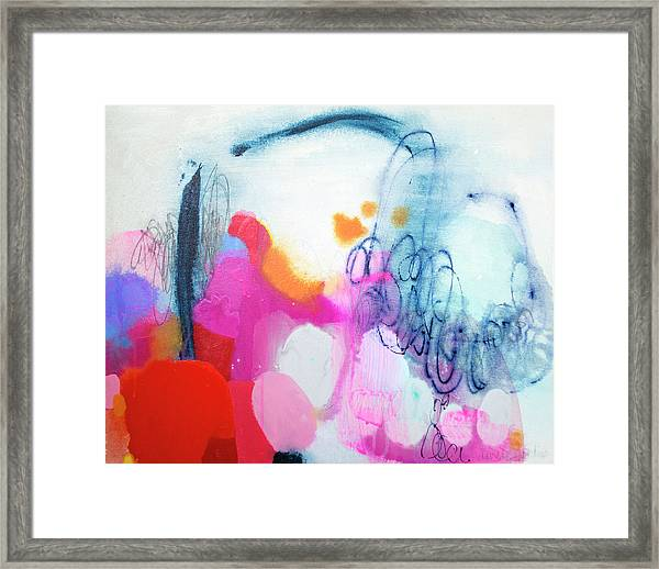 Down To Business Framed Print