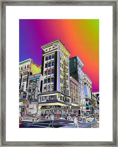 Down Town  Framed Print
