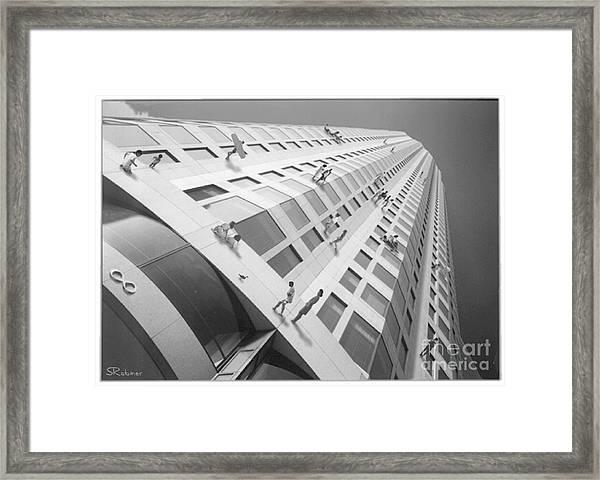Downtown Beach Framed Print