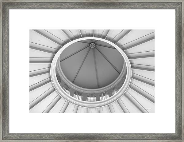 Framed Print featuring the photograph Downtown Columbus Bw1927 by Brian Gryphon