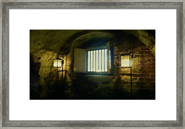 Downtown Dungeon Framed Print