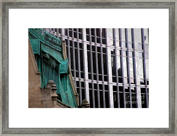 Downtown Indy Framed Print