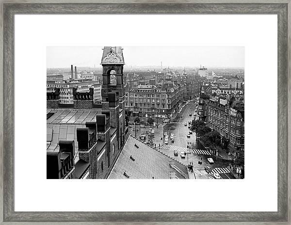Downtown Kobenhavn  Framed Print