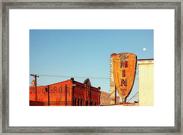 Downtown White Sulphur Springs Framed Print