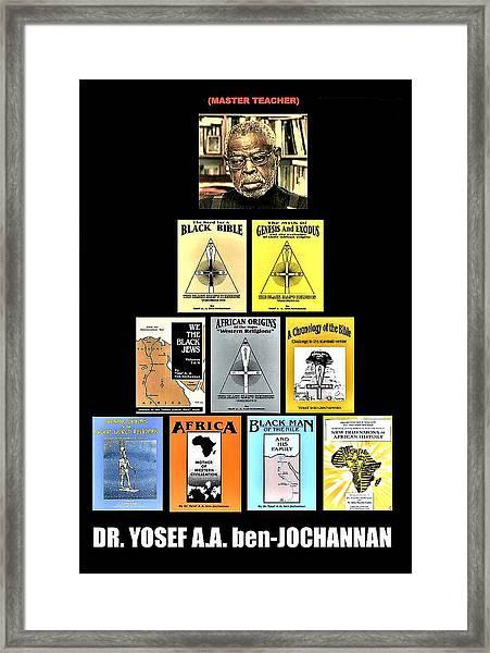 Dr. Ben Framed Print