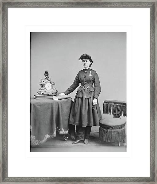 Dr. Mary Walker Framed Print