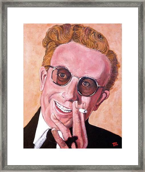 Dr Strangelove  Framed Print