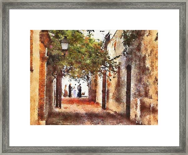 Dr Wedding Framed Print