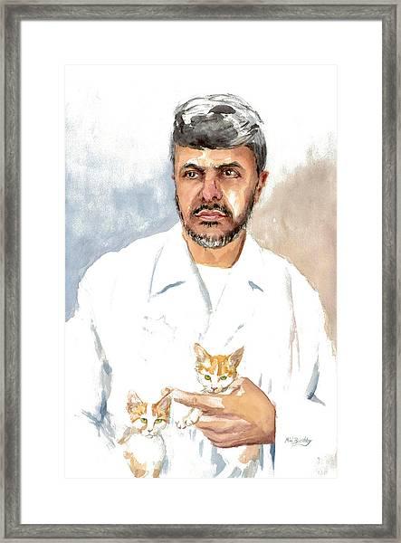 Dr Yoossef Framed Print