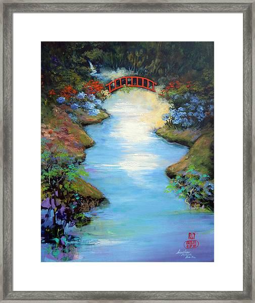 Dragon Bridge Framed Print