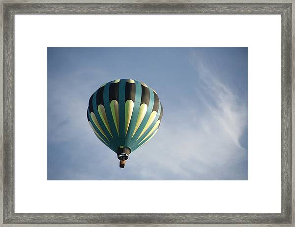 Dragon Cloud With Balloon Framed Print
