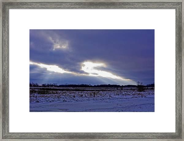 Dragon Light Framed Print