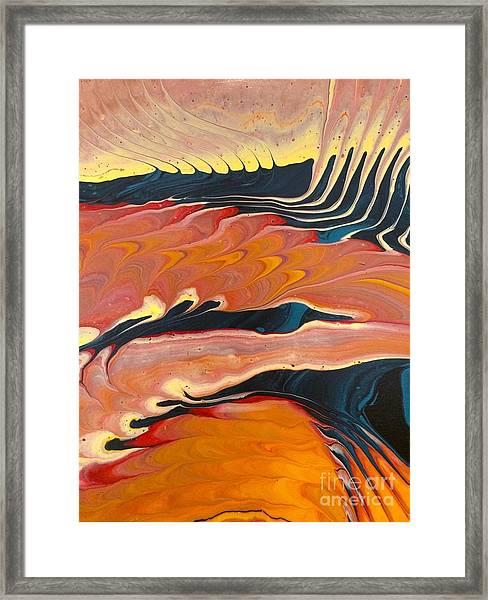 Dragon Song Framed Print
