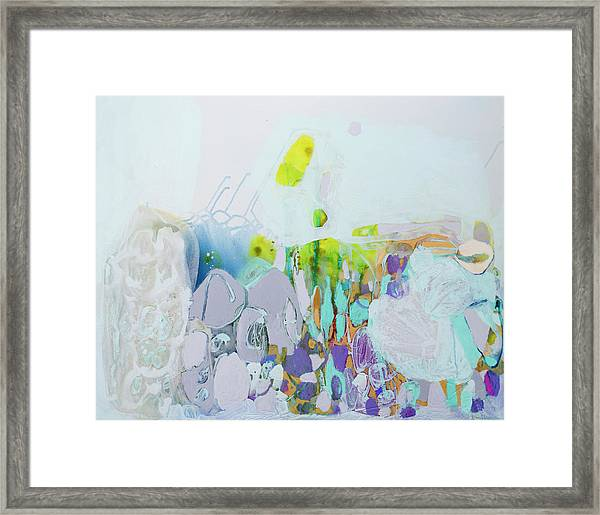 Dragonflies In May Framed Print
