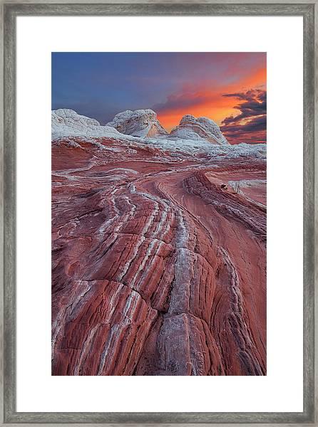 Dragons Tail Sunrise Framed Print
