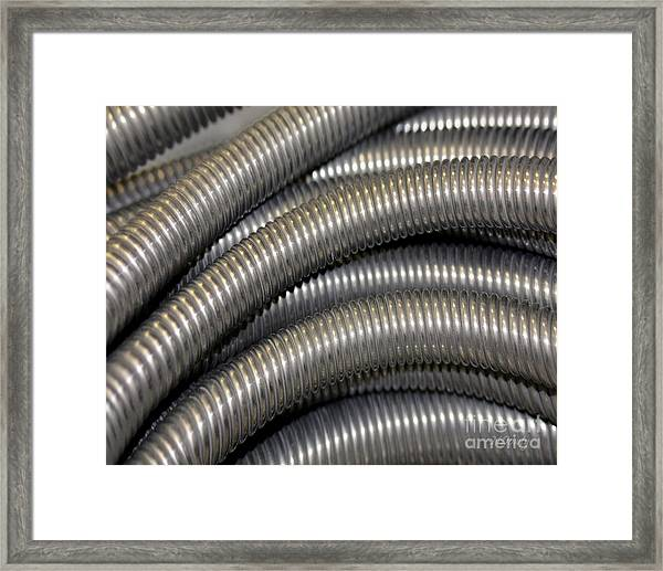 Drain Cable Framed Print