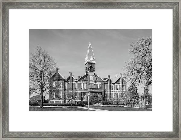 Drake University Old Main Framed Print
