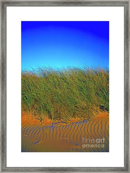 Drake's Island Beach Framed Print