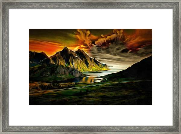 Dramatic Skies Framed Print