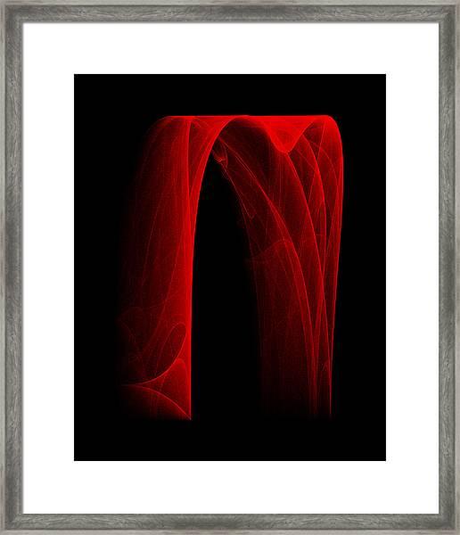 Draping Fall I Framed Print
