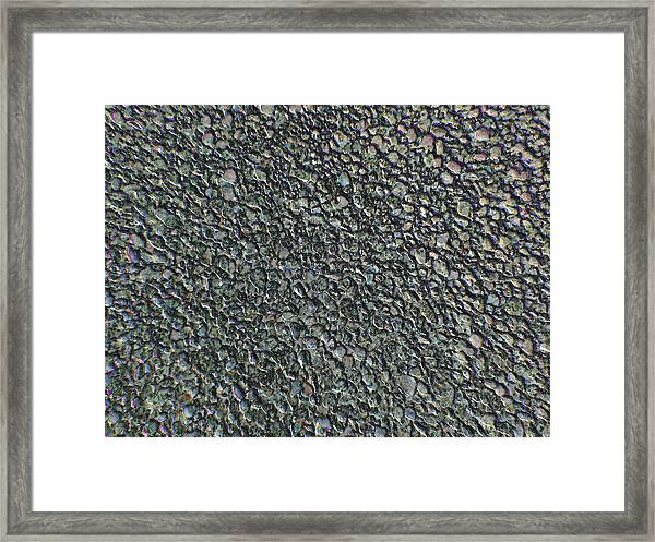 Drawn Pebbles Framed Print