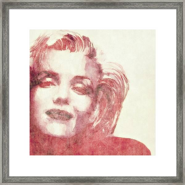 Dream A Little Dream Of Me Framed Print