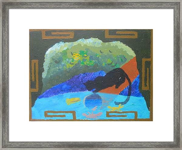 Dream Image Framed Print