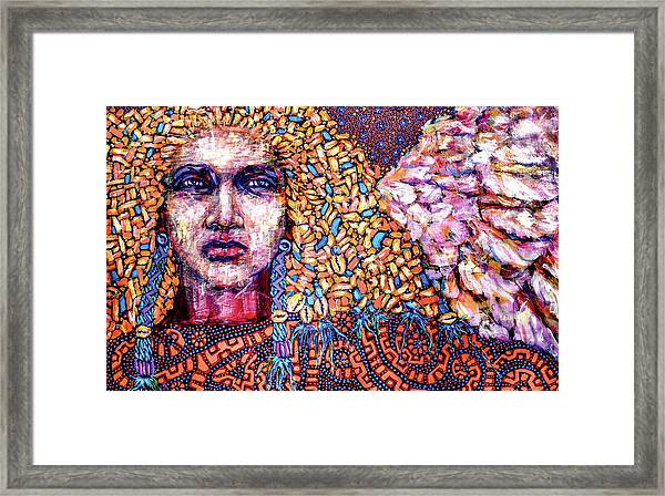Dream Messenger-angel Framed Print