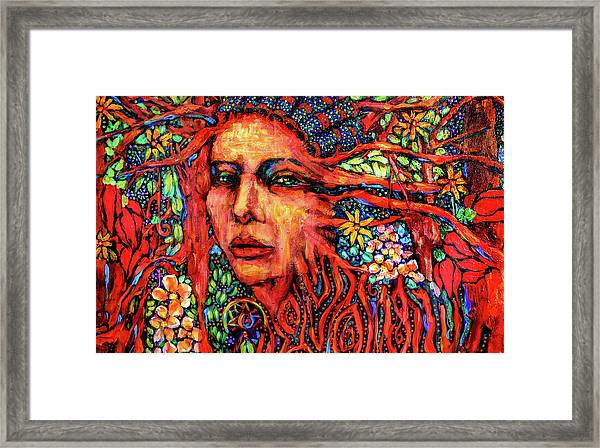 Dream Messenger-earth Framed Print
