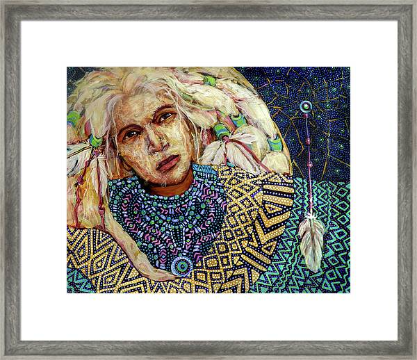 Dream Messenger-shadow Catcher No. 3 Framed Print