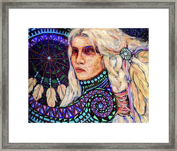 Dream Messenger-shadow Catcher No. 4 Framed Print