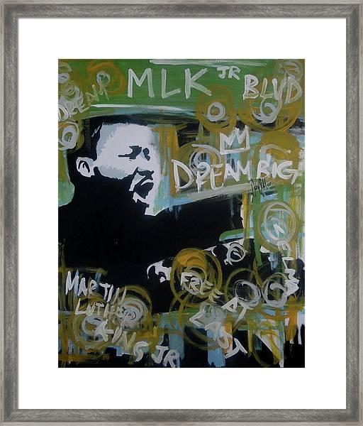 Dream Moore Framed Print