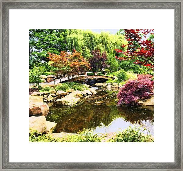 Dream Of Asia Framed Print