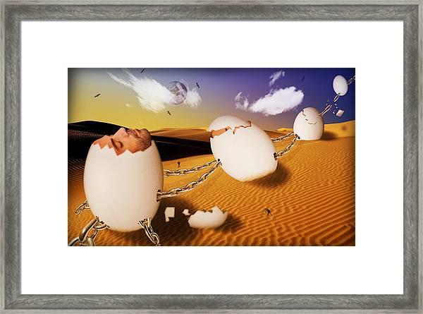 Dream Of Desert  Framed Print
