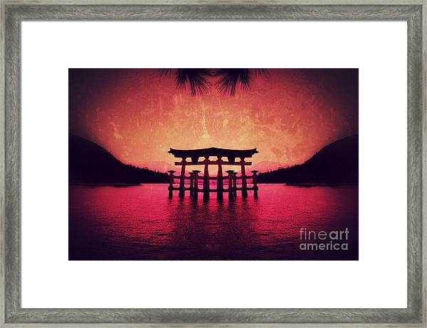 Dream Of Japan Framed Print