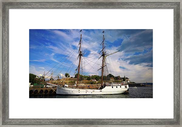 Dream On The Fjord Framed Print