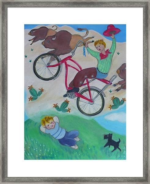 Dream Ride Framed Print