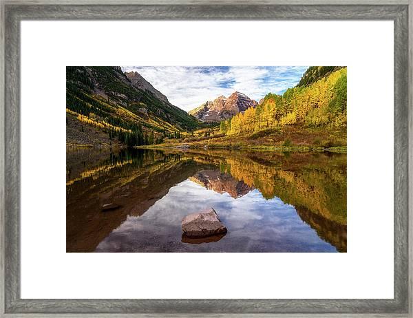 Dreaming Colorado Framed Print