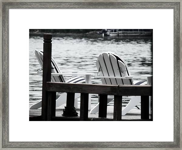 Dreaming Of The Beach Framed Print
