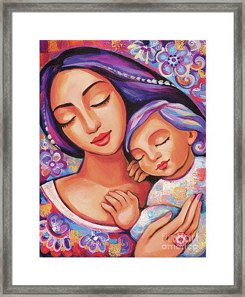 Dreaming Together Framed Print
