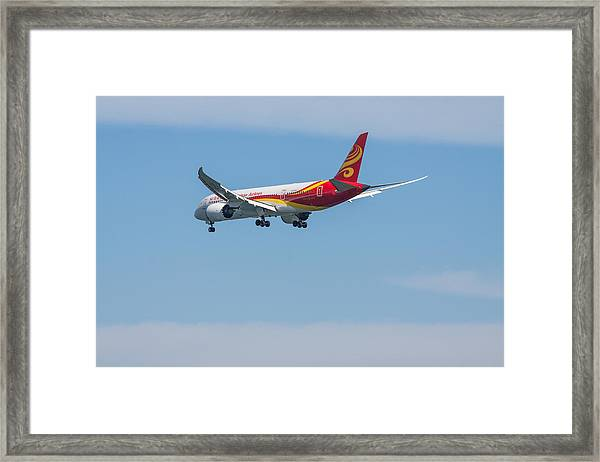 Dreamliner Framed Print