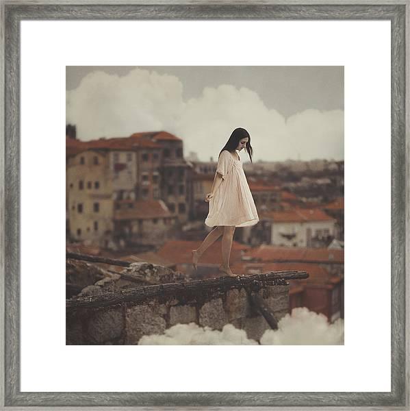 Dreams In Old Porto Framed Print