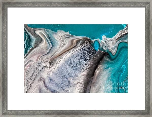 Dreams Like Ocean Framed Print
