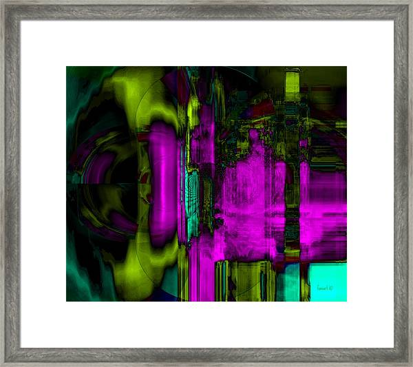 Dreams Upon October Framed Print by Fania Simon