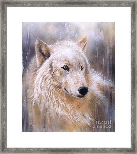 Dreamscape - Wolf II Framed Print