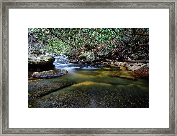 Dreamy Creek Framed Print