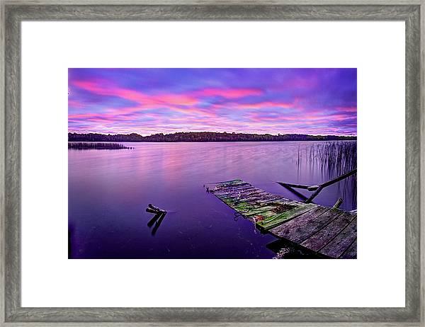 Dreamy Sunrise Framed Print