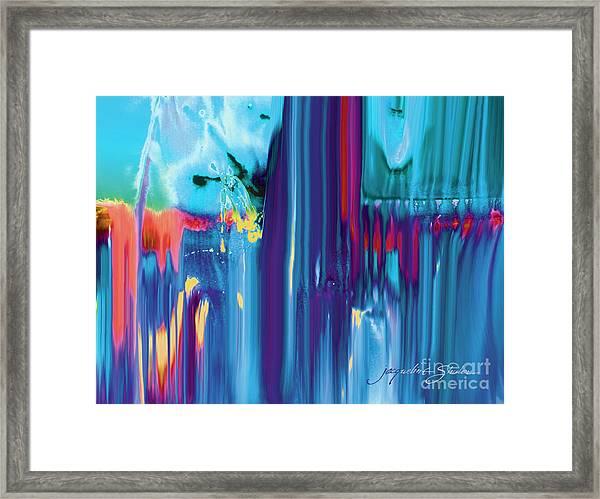 Drenched Framed Print
