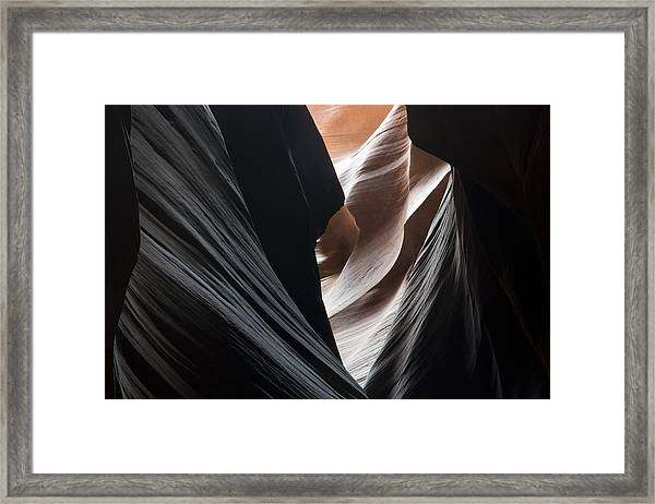 Dressed In Black Framed Print