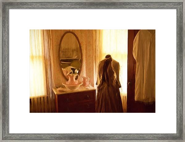 Dressing Room Framed Print